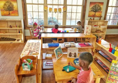 Our Peaceful Montessori Classroom